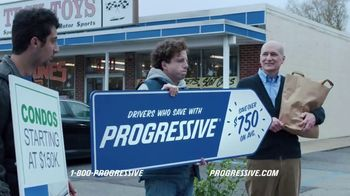 Progressive TV Spot, 'Sign Spinner: Son'