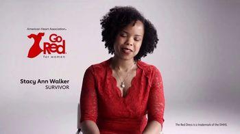 American Heart Association TV Spot, 'Go Red: Stacy Ann Walker' - Thumbnail 1
