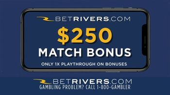 Rivers Online Casino TV Spot, '$250 Match Bonus' - Thumbnail 9