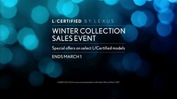 Lexus Winter Collection Sales Event TV Spot, 'Fall In Love' [T1] - Thumbnail 8