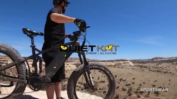 QuietKat TV Spot, 'Overlanding E-Bike'