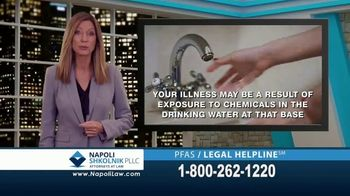 Napoli Shkolnik PLLC TV Spot, 'Contaminated Military Base Water'