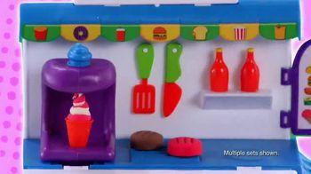 Cra-Z-Art Softee Dough Food Truck Fun! and Mealtime Fun! TV Spot, 'Get Creative'