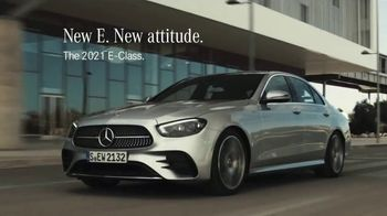 2021 Mercedes-Benz E-Class TV Spot, 'New Attitude' Song by The Struts [T2]