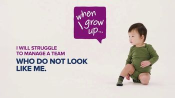 Society for Human Resource Management TV Spot, 'When I Grow Up: Leaders' - Thumbnail 4