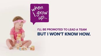 Society for Human Resource Management TV Spot, 'When I Grow Up: Leaders'