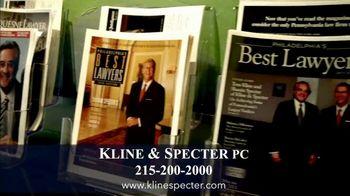 Kline & Specter TV Spot, 'Trial Firm' - Thumbnail 9