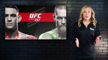 DraftKings Sportsbook TV Spot, 'UFC 257: Bet $1, Win $257' - Thumbnail 1