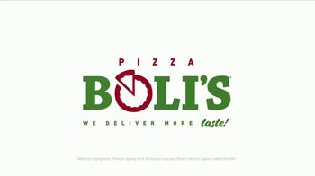 Pizza Boli's Super Sized Deal TV Spot, 'Large Pizza and Two Sodas' - Thumbnail 10