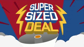 Pizza Boli's Super Sized Deal TV Spot, 'Large Pizza and Two Sodas' - Thumbnail 3