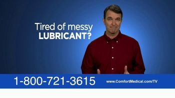 Comfort Medical TV Spot, 'Tired of Using Lubricant: Medicare' - Thumbnail 1