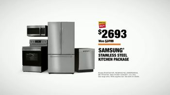 The Home Depot TV Spot, 'New Year, New Appliances: Samsung Kitchen Package' - Thumbnail 9