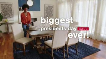 Ashley HomeStore Presidents Day Sale TV Spot, '30% Off: Sofa and Table: No Minimum Purchase' - Thumbnail 1