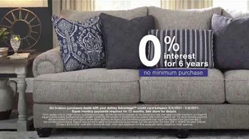 Ashley HomeStore Presidents Day Sale TV Spot, '30% Off: Sofa and Table: No Minimum Purchase' - Thumbnail 3