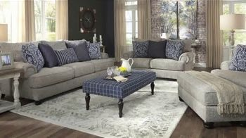 Ashley HomeStore Presidents Day Sale TV Spot, '30% Off: Sofa and Table: No Minimum Purchase' - Thumbnail 5