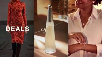 Macy's One Day Sale TV Spot, 'Deals of the Day: Fine Jewelry, Tees, Jeans and Designer Fragrances' - Thumbnail 2