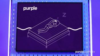 Purple Mattress Presidents Day Sale TV Spot, 'Awkward-Free: $350 Off' - Thumbnail 2