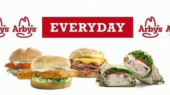 Arby's 2 for $6 Everyday Value TV Spot, 'Beef and Cheddar Sandwich' Song by YOGI - Thumbnail 1