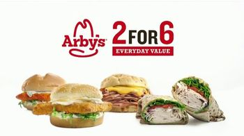 Arby's 2 for $6 Everyday Value TV Spot, 'Beef and Cheddar Sandwich' Song by YOGI - 1203 commercial airings