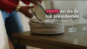 Ashley HomeStore Venta del Día de los Presidentes TV Spot, 'Acceso temprano' [Spanish] - Thumbnail 2