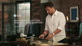UNTUCKit TV Spot, 'UNTUCKit Responds to Dan Wilbur: Sale On Now'