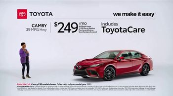 2021 Toyota Camry TV Spot, 'Too Good to Pass Up' [T2] - Thumbnail 1