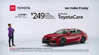 2021 Toyota Camry TV Spot, 'Too Good to Pass Up' [T2] - Thumbnail 2