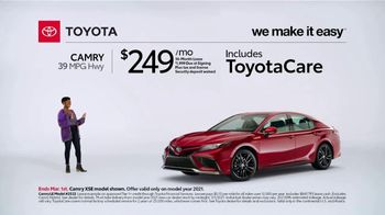 2021 Toyota Camry TV Spot, 'Too Good to Pass Up' [T2] - Thumbnail 3