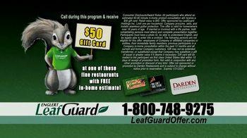 LeafGuard Double Savings Sale TV Spot, 'Mother Nature' - Thumbnail 8