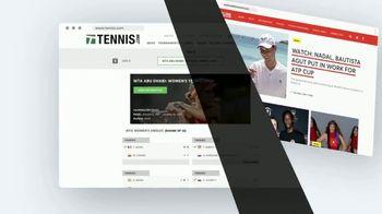 TENNIS.com TV Spot, 'Breaking News, Highlights and Baseline' - Thumbnail 7