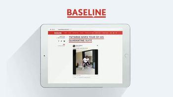 TENNIS.com TV Spot, 'Breaking News, Highlights and Baseline' - Thumbnail 9