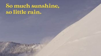 Visit Idaho TV Spot, 'Sun Valley: So Much Sunshine, So Little Rain'