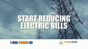 Power Home Solar & Roofing TV Spot, 'Lower Electric Bill' Song by Twisted Sister - Thumbnail 4