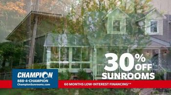 Champion Windows TV Spot, 'Dream Home: 30% Off' - Thumbnail 4
