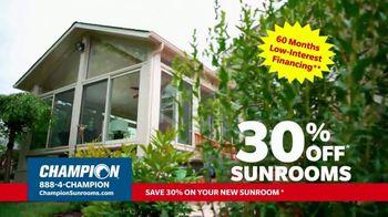 Champion Windows TV Spot, 'Dream Home: 30% Off' - Thumbnail 5