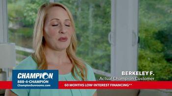 Champion Windows TV Spot, 'Dream Home: 30% Off' - Thumbnail 9