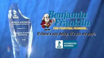 Benjamin Franklin Plumbing TV Spot, 'Torch Award' - Thumbnail 9