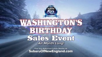 Subaru Washington's Birthday Sales Event TV Spot, 'Feel the Freedom' [T2] - Thumbnail 4