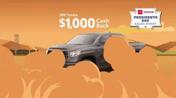 Toyota Presidents Day Sales Event TV Spot, 'The Savings Are Coming: Trucks' [T2] - Thumbnail 8