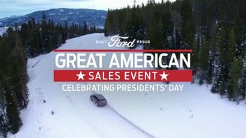 Ford Great American Sales Event TV Spot, 'Presidents Day: Explorer' [T2] - Thumbnail 1
