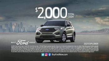 Ford Great American Sales Event TV Spot, 'Presidents Day: Explorer' [T2] - Thumbnail 5