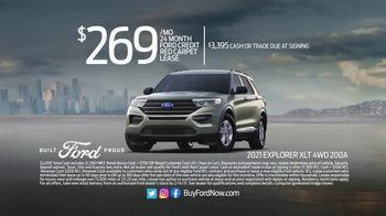 Ford Great American Sales Event TV Spot, 'Presidents Day: Explorer' [T2] - Thumbnail 6