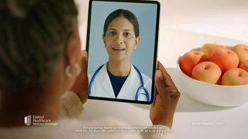 UnitedHealthcare AARP Medicare Advantage Plans TV Spot, 'Here or There' - Thumbnail 2