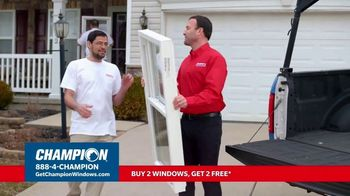 Champion Windows TV Spot, 'Replacement Window Season: Buy Two Get Two' - Thumbnail 5