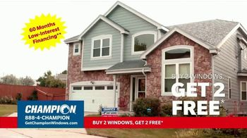 Champion Windows TV Spot, 'Stay Comfortable: Buy 2 Get 2 Free' - Thumbnail 7