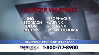 Cory Watson Law TV Spot, 'Lung Cancer Diagnoses'
