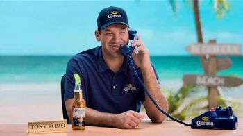 Corona Extra TV Spot, 'Romo Replacement' Featuring Tony Romo - 9 commercial airings