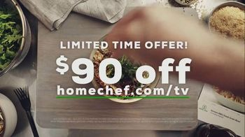 Home Chef TV Spot, 'Fit Your Schedule: $90' - Thumbnail 9