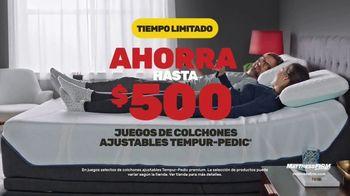 Mattress Firm TV Spot, 'Tempur-Pedic: hasta $500 dólares' [Spanish] - Thumbnail 4