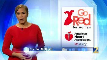 American Heart Association TV Spot, 'ABC 2 Atlanta: Go Red: Focus On Your Health' - Thumbnail 1